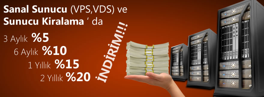 vps vds co-location indirim